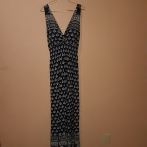 EUC Candy Couture Maxi Floral dress size Large
